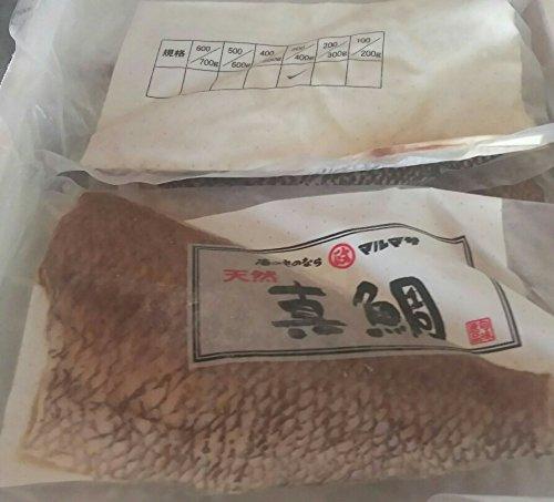国産 ( 長崎県 ) 天然 真鯛 フィーレ 10枚 ( 枚約300-400g ) 業務用 刺身 タイ フィレ