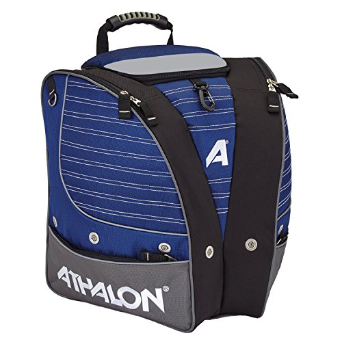 Athalon PERSONALIZEABLE ADULT BOOT BAG/BACKPACK – SKI - SNOWBOARD – HOLDS EVERYTHING – (BOOTS, HELMET, GOGGLES, GLOVES)