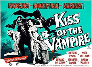 Kiss of The Vampire - 1963 - Movie Poster