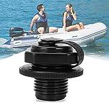 Reemplazo de la válvula de Aire, 23.3 mm Válvula de Aire Sello de colchón Tornillo Tapón Válvula de Sello de Bote for Barco Inflable Barco de Pesca Cama de Aire