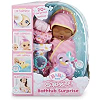 Baby Born Surprise Bathtub Pink Swaddle Daisies