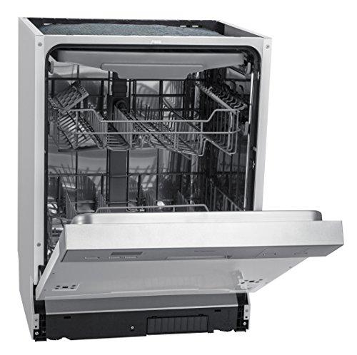 Bomann GSPE 880 Einbau-Geschirrspüler teilintegriert