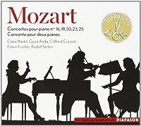 Piano Concerto, 10, 16, 19, 20, 23, 25, : Haskil G.anda Curzon E.fischer Serkin(P)