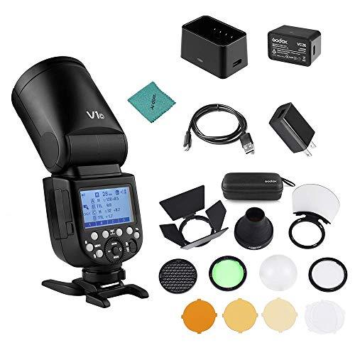 Godox V1C Camera Flash Speedlite Speedlight Round...