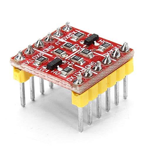 Umwandlung Brett 5 Stücke 3,3 V 5 V TTL Bidirektionale Logik Pegelwandler Fit for Arduino Ladegerät