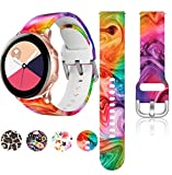 HQzon Printed Patterns Galaxy Watch Active Bands,20mm Replacement...