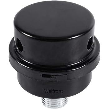 "Black 1//2/""PT Thread Inlet Plastic Filter Silencer for Air CompressoWFIT"