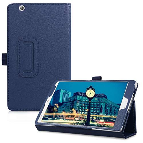 kwmobile Custodia Compatibile con Tablet Huawei MediaPad M3 8.4 - Cover Protettiva in Pelle PU - Copertina con Stand - Smart Case