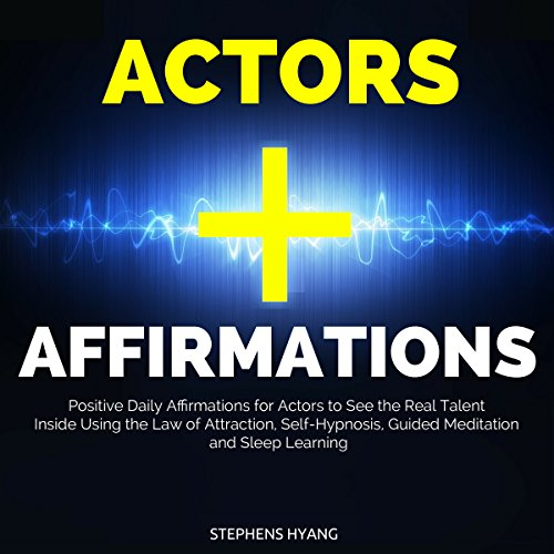 Actors Affirmations audiobook cover art