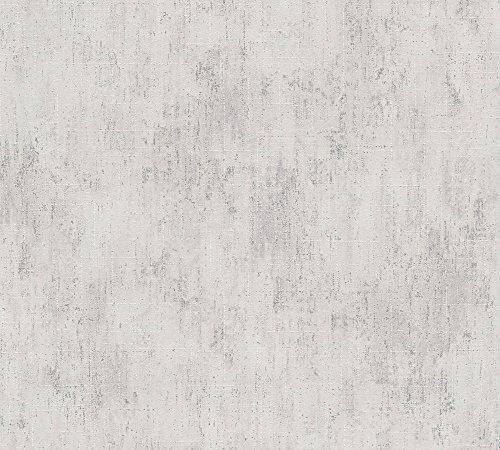 *Metropolis by Michalsky Living Vliestapete South Beach Tapete Unitapete 10,05 m x 0,53 m creme grün Made in Germany 304578 30457-8*