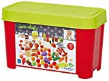 Ecoiffier - Box mit Spiellebensmitteln - Zubehör für Kaufmannsläden oder Spielküchen, 75-teiliges Erweiterung Spiellebensmittel-Set, für Kinder ab 18 Monaten