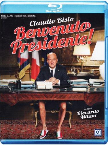 Welcome Mr. President! (2013) ( Benvenuto Presidente! ) [ NON-USA FORMAT, Blu-Ray, Reg.B Import - Italy ]