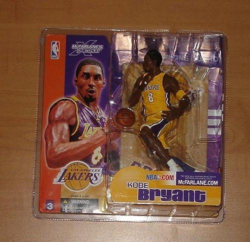 sin mínimo Kobe Bryant  8 Los Angeles Lakers Longer Hair & & & Sideburns amarillo Jersey Varia... by Unknown  compra limitada