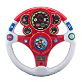 eKids Mario Kart Toy Steering Wheel for Kids with Built-in Sound Effects and Light Up Display, Designed for Fans of Mario Kart Toys for Boys Aged 3 and Up