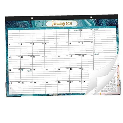 YepYes 2021 Calendario de Escritorio Planificador Calendario de Planificación de organización Flexible mensual para el Ministerio del Interior