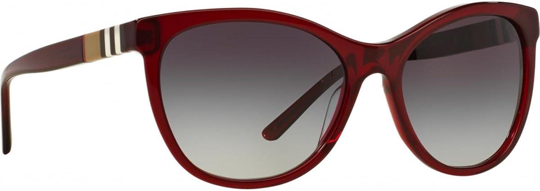 Burberry Women's 0BE4199 Dark Red Gradient Grey