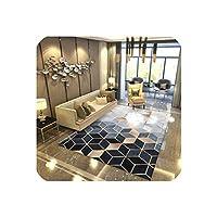 リビングルームベッドルームラグメタルスタイルラグマットホームカーペットの床のための現代柔らかい絨毯ドアマット装飾Tapeteサロン、Xjz-29,200Cmx300Cm