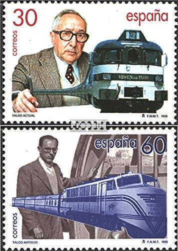 Prophila Collection España Michel.-No..: 3205-3206 (Completa.edición.) 1995 Talgo (Sellos para los coleccionistas) vehículos sobre raíles / funicular