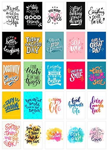Edition Seidel Set 25 Postkarten Leben und Momente mit Sprüchen - Karten mit Spruch - Geschenk - Dekoidee, Liebe, Fre&schaft, Leben, Motivation, Geburtstagskarten Bilder Bild Englisch