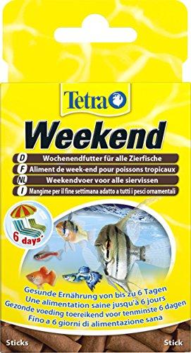 TetraMin Weekend Wochenendfutter (kompakte Futtersticks für die Versorgung aller Zierfische am Wochenende bzw. Über Zeitraum der Abwesenheit bis zu 6 Tagen), 20 Stück