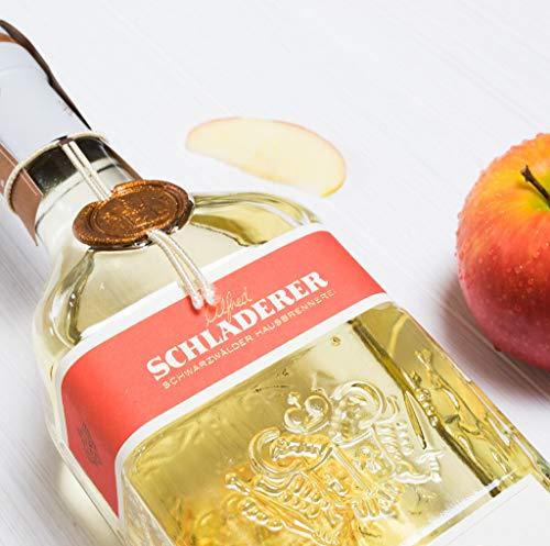 Schladerer Milder Bergapfel, feiner Digestif aus dem Schwarzwald, mild und fruchtig-frisch dank Äpfeln aus Höhenlagen (1 x 0.7 l) - 3