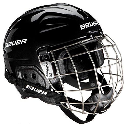 Bauer Erwachsene Helm Helmet LIL Sport Combo mit Gitter, Schwarz, One size