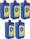 Pustefix 420869725 - Seifenblasen Nachfüllflasche Maxi 1000 ml (5er Pack)