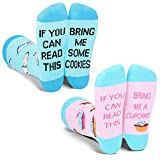 Funny Saying If You Can Read This Bring Me Cupcake Cookies Socks-Novelty Gag Gift For Cupcake Cookies Lover