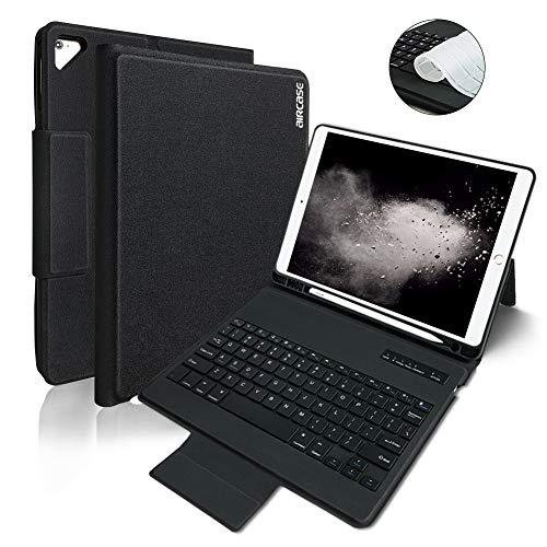 iPad Keyboard Case 9.7 for New iPad 2018 (6th Gen) - iPad Pro 2017 (5th Gen) - iPad Air 2/1 -Non-Detachable Wireless Bluetooth Keyboard - Magnetic Auto Sleep/Wake (Black)