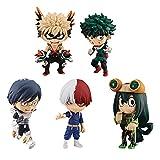 5 Unids / Set My Hero Academia Figura 6 Cm, Izuku Midoriya Shouto Todorok Asui Tsuyu Anime Figuras De Acción Colección Decoración Modelo Juguetes
