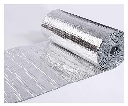 Autoadhesivo Rollo Aislante Termico Aislamiento Termico Aluminio Aislamiento Térmico Multicapa para Frío Y Calor Lámina Térmica para Ahorro De Energía En Radiator, Reflector De Calor Aislamiento