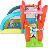 Naice Inflatable Bounce House with Slide, Inflatable Bouncers Outdoor...