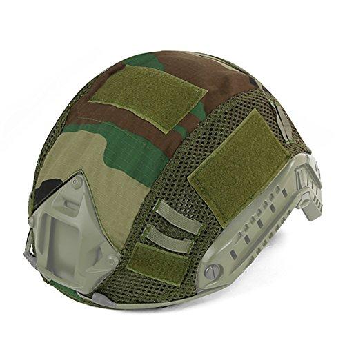 SUNRIS Cubierta de camuflaje para casco...
