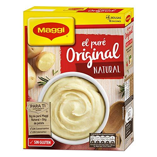 Maggi Puré de patatas Original Natural - 4 bolsas - 460 gr