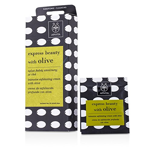 Apivita - Express Beauty Intensive Exfoliating Cream With Olive 6X(2X8Ml) - Soins De La Peau