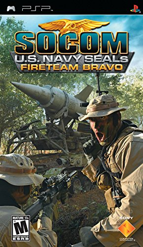 Sony SOCOM U.S. Navy SEALs Fireteam Bravo PlayStation Portable (PSP) English video game - video games (PlayStation Portable (PSP), Action, M (Mature), English, Sony)