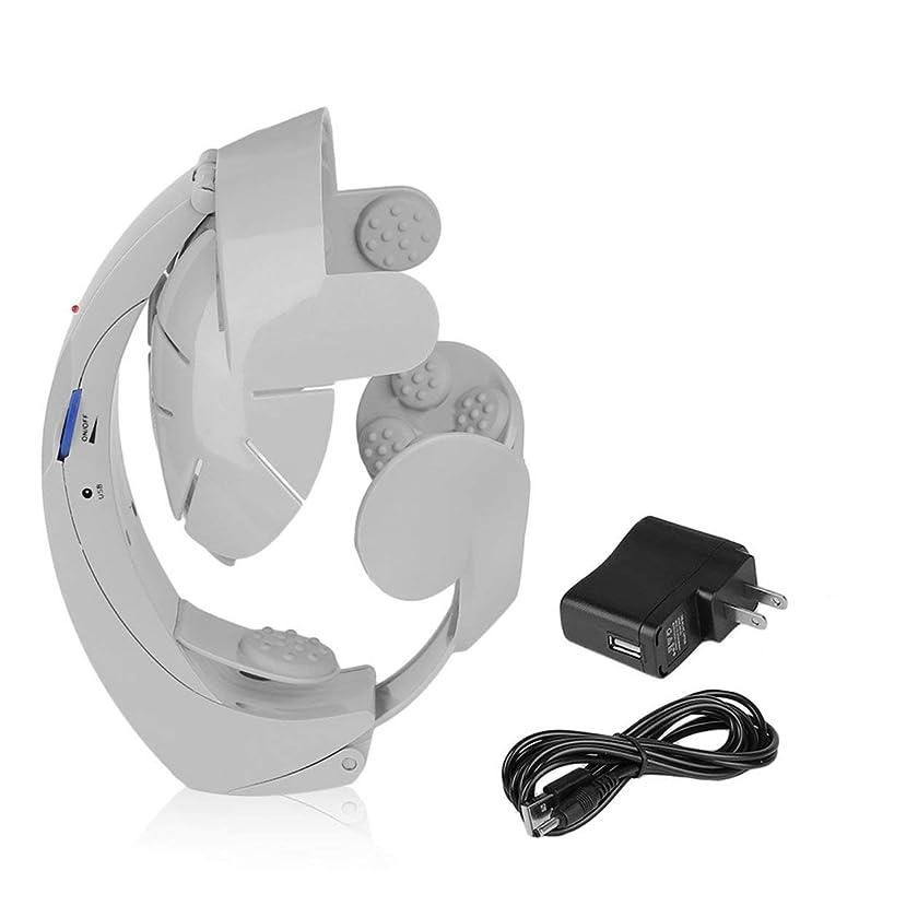 ブリッジレイプクッションヒューマノイドデザイン電動ヘッドマッサージ脳のマッサージリラックス簡単な鍼治療ファッションスタイルヘルスケアサプライ