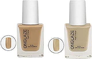 Onglaze Creame Gel The Nud Collection Combo Of 2 Nail Paint