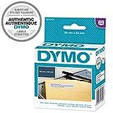DYMO LW -  Etiquetas auténticas de dirección del remitente grandes, 25mm×54mm, rollo de 500etiquetas con reverso fácil de retirar, autoadhesivas, para rotuladoras LabelWriter