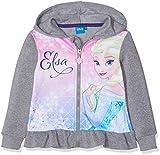 Disney Frozen Frozen, Felpa Bambina, Grigio Light Grey Melange, 6 Anni