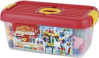 学研 ニューブロックたっぷりセット 83159 【知的玩具 おもちゃ 子供 解説 たっぷり 種類豊富 作品 チャレンジ 入園祝 御祝 日本製】