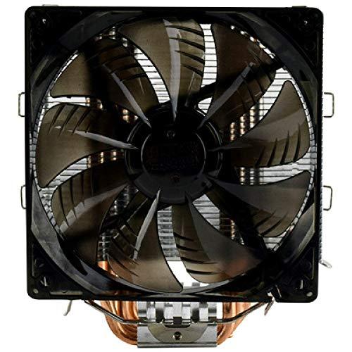 CYONGYOU radiador de CPU radiador de computadora 4 Tubo de Calor enfriamiento silencioso Ventilador Inteligente Sea X5
