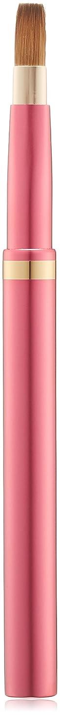 アルバムスポークスマン天才広島県熊野のメイクブラシ オートリップブラシ 平型 (ピンク) コリンスキー