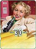 Calendario perpetuo Cocacola Vintage The White Woman