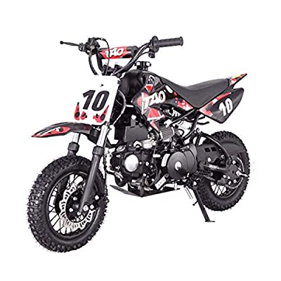 X-PRO 110cc Dirt Bike Pit Bike Youth Dirt Pit Bike 110 Dirt Pitbike,Red by X-Pro