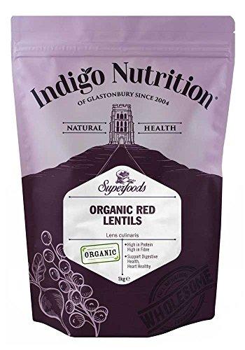Indigo Herbs Lentejas Rojas Orgánicas 1kg