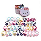 Hello Kitty haargummis - Gomas para el pelo (40 unidades), diseño de Hello Kitty