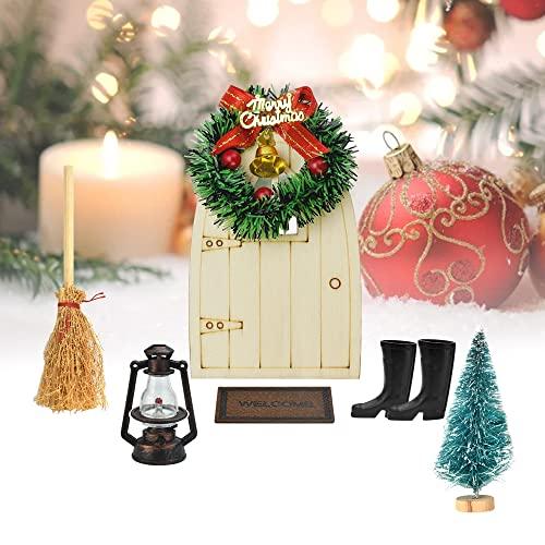 Decoración Navidad Puerta Casa decoración navidad puerta  Marca TANCUDER