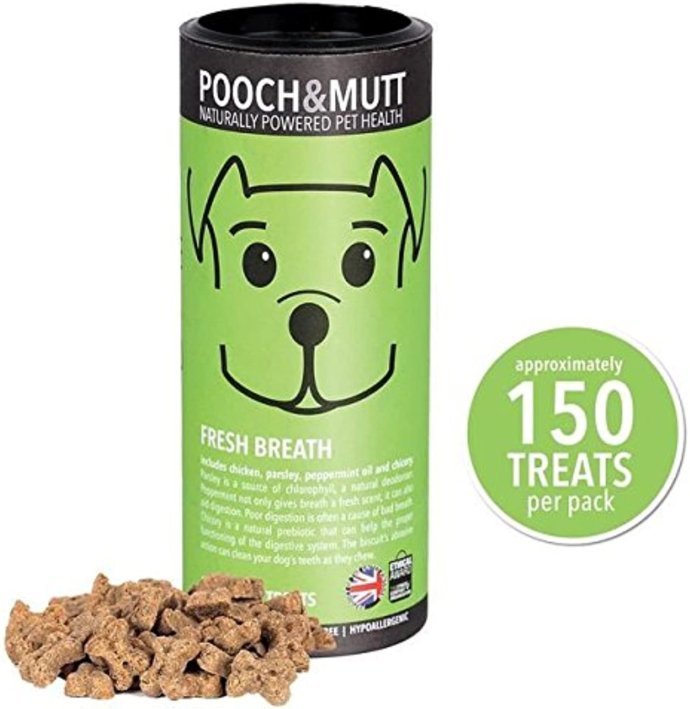 Pooch & Mutt Fresh Breath Mini Bone Treats For Dogs 125g (PACK OF 4)