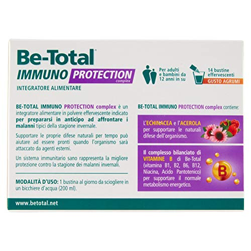 Be Total Immuno Protection 14 Bustine effervescenti